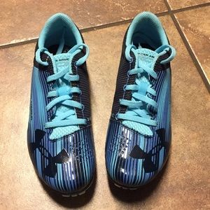 NWOT Under Armour Racing Spikes